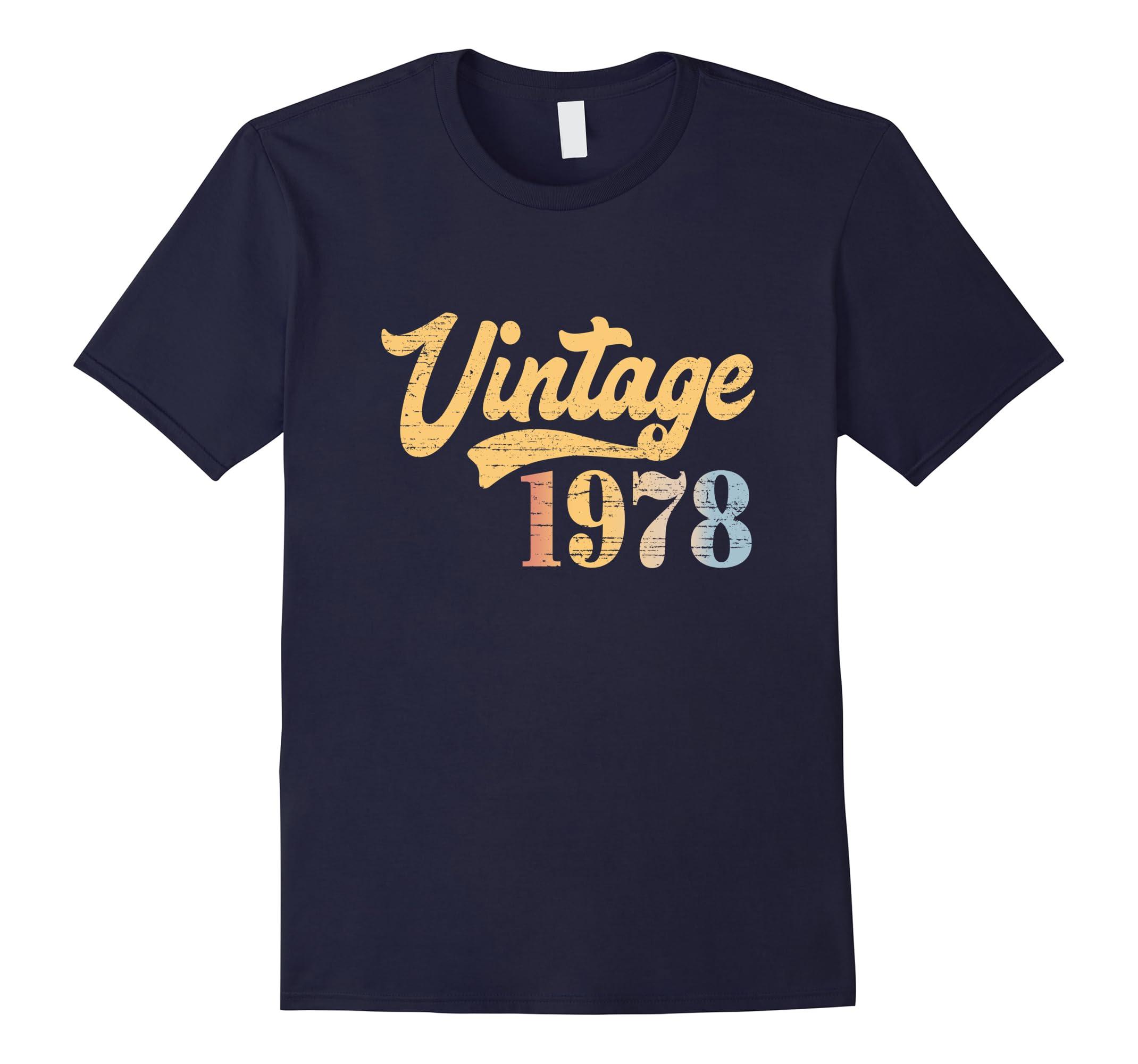 40 Years Old T-Shirt. 40th Birthday Tee For Men/Women.-RT