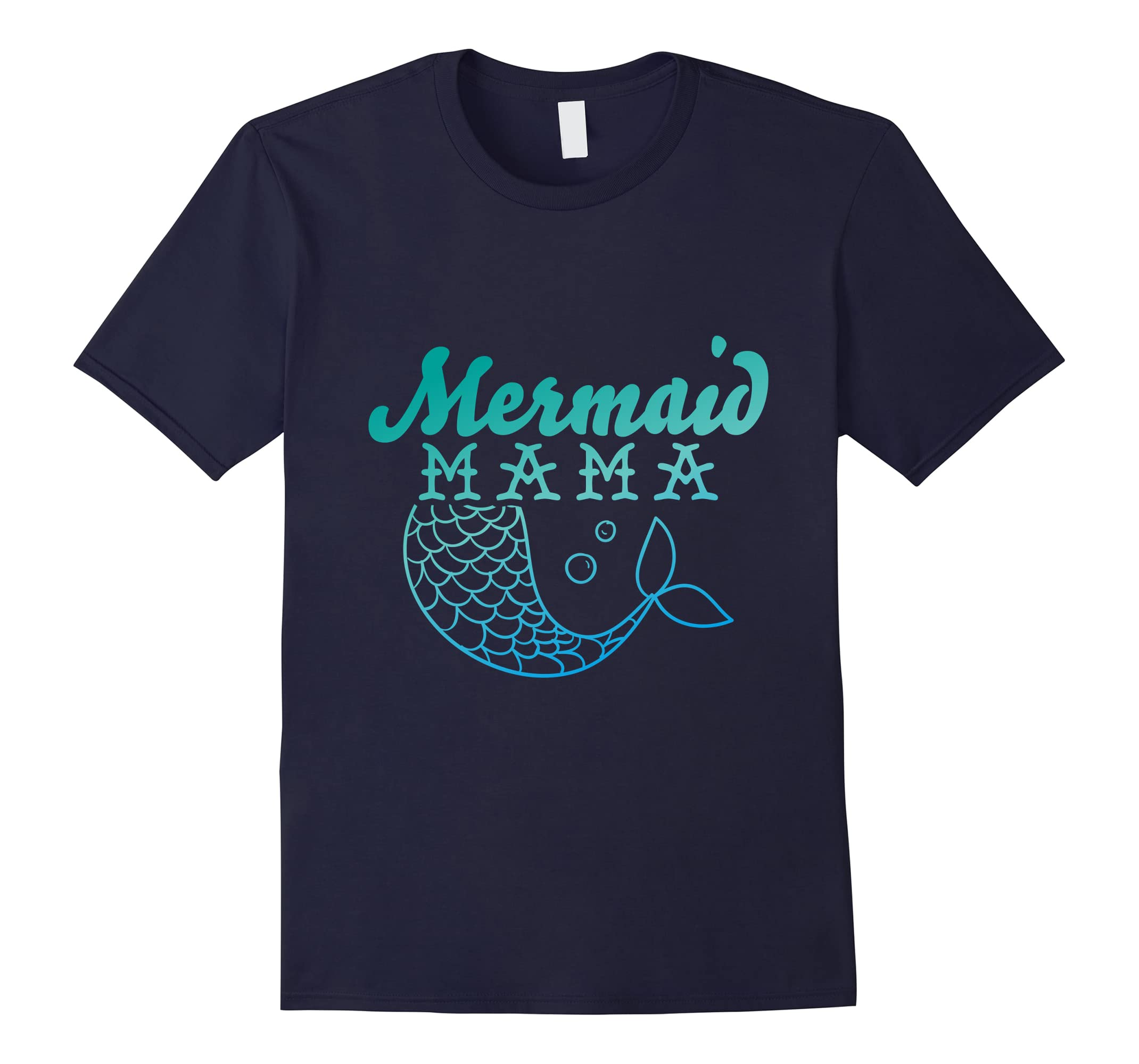 Mermaid Mama Mom - Mermaid Birthday Party Shirt-RT