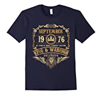 Sept 1976 42 Years Of Being A Mixture King Warrior Shirts Navy