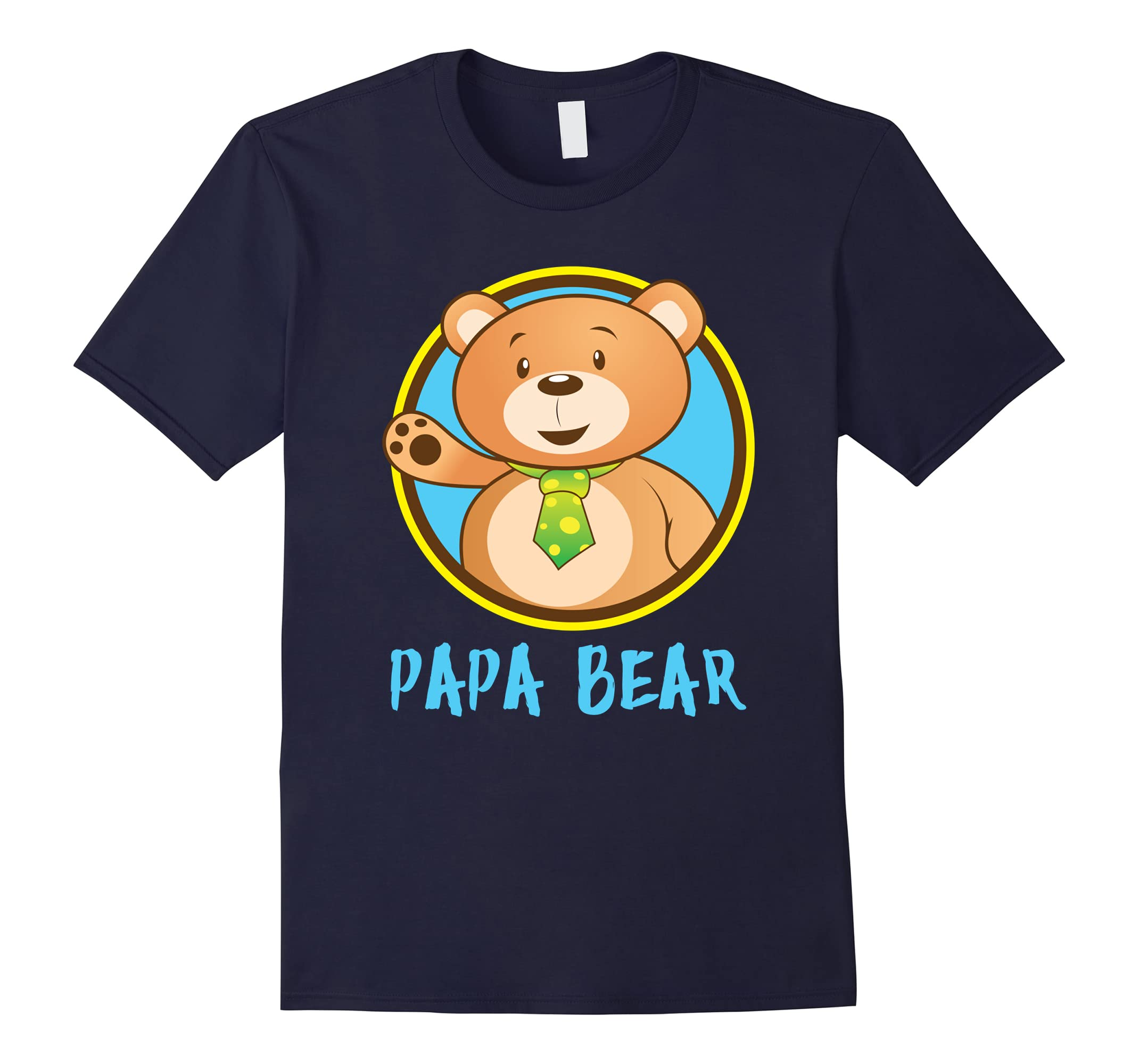 'Papa Bear Matching Shirt' Cute Papa Bear Couple Shirt-RT