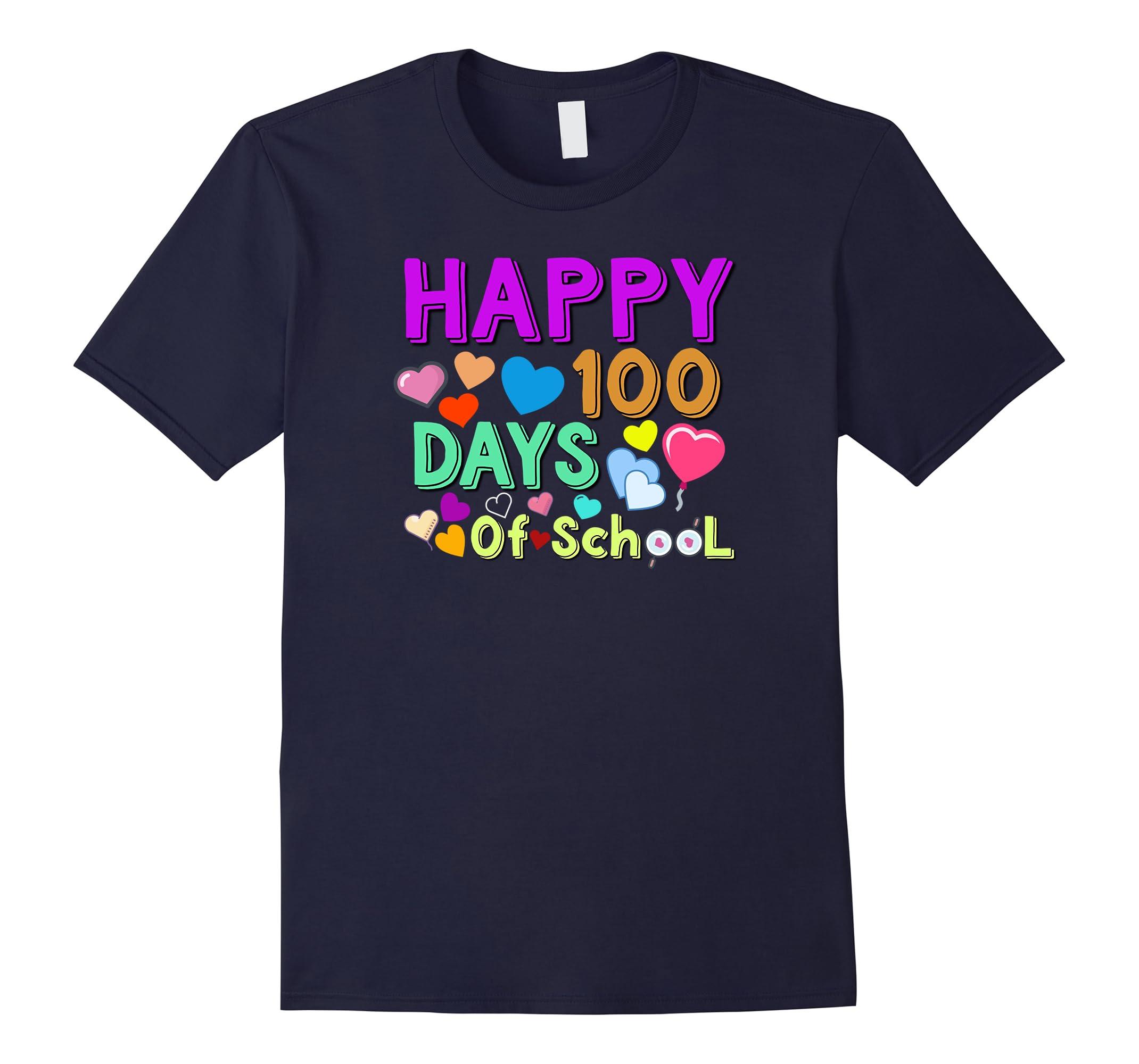 100th Day of School Shirt | Happy 100 Days Of School T-shirt-RT