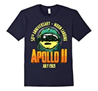 Apollo 11 50th Anniversary Shirts Navy