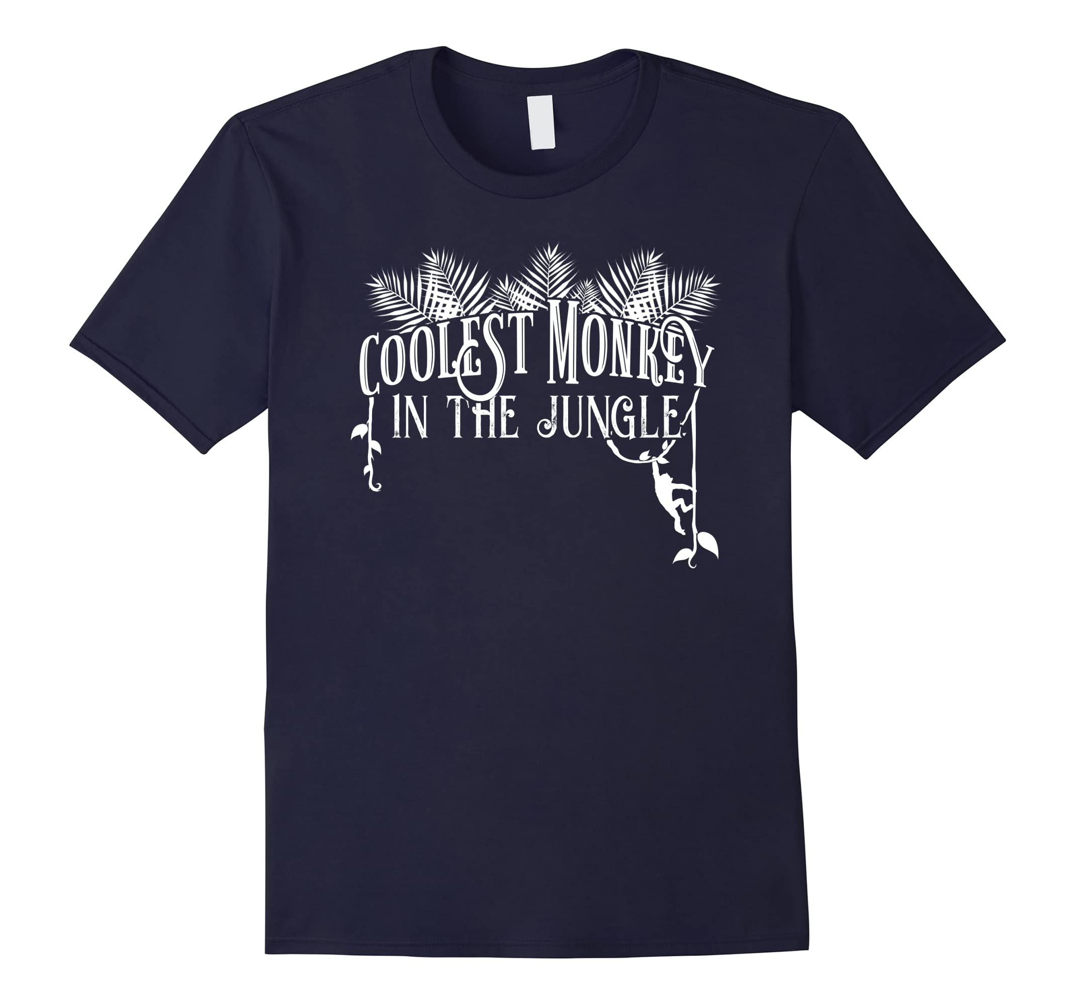 Coolest Monkey In The Jungle - Funny T-Shirt-RT