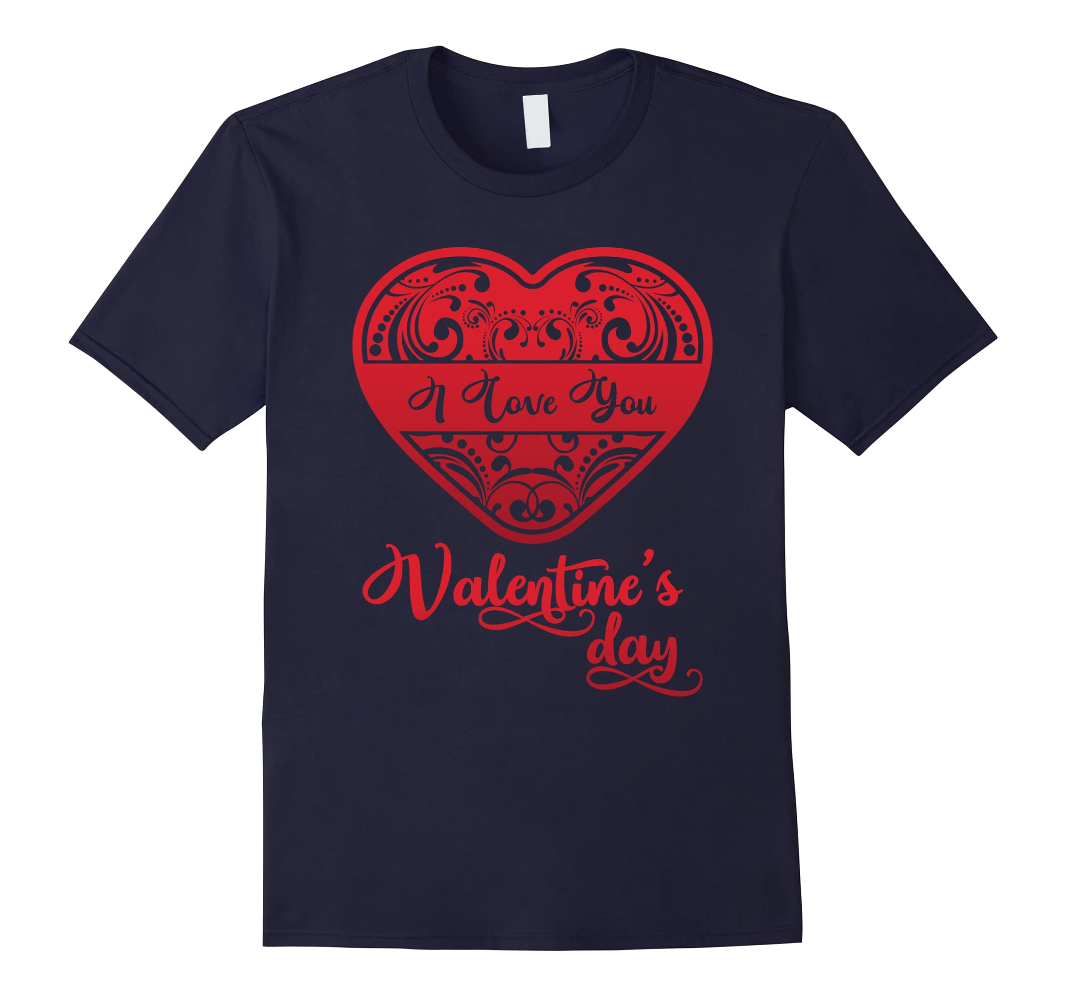 'I Love You' Cute Valentine's Day Shirt-RT