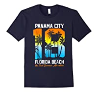 Pa City Beach 2018 Florida T Shirt Beach Lovers Gift Navy