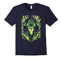 Lion King Evil Scar Graphic Shirts Navy