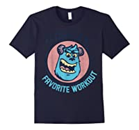 Pixar Monsters University Sulley Face Shirts Navy
