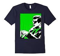 John F Kennedy 35th President - Jfk Smoking Cigar Blunt Premium T-shirt Navy