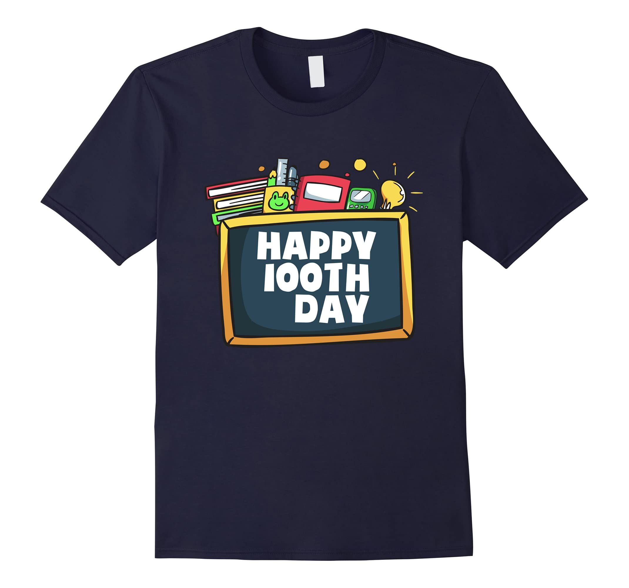 100th Day of School School Teacher and Student Gifts T-Shirt-ah my shirt one gift