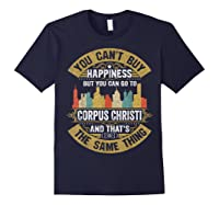 Corpus Christi City Flag Tshirt I Love Corpus Christi Shirt Navy