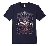 Snow Take A Bite Vintage Poster Shirts Navy