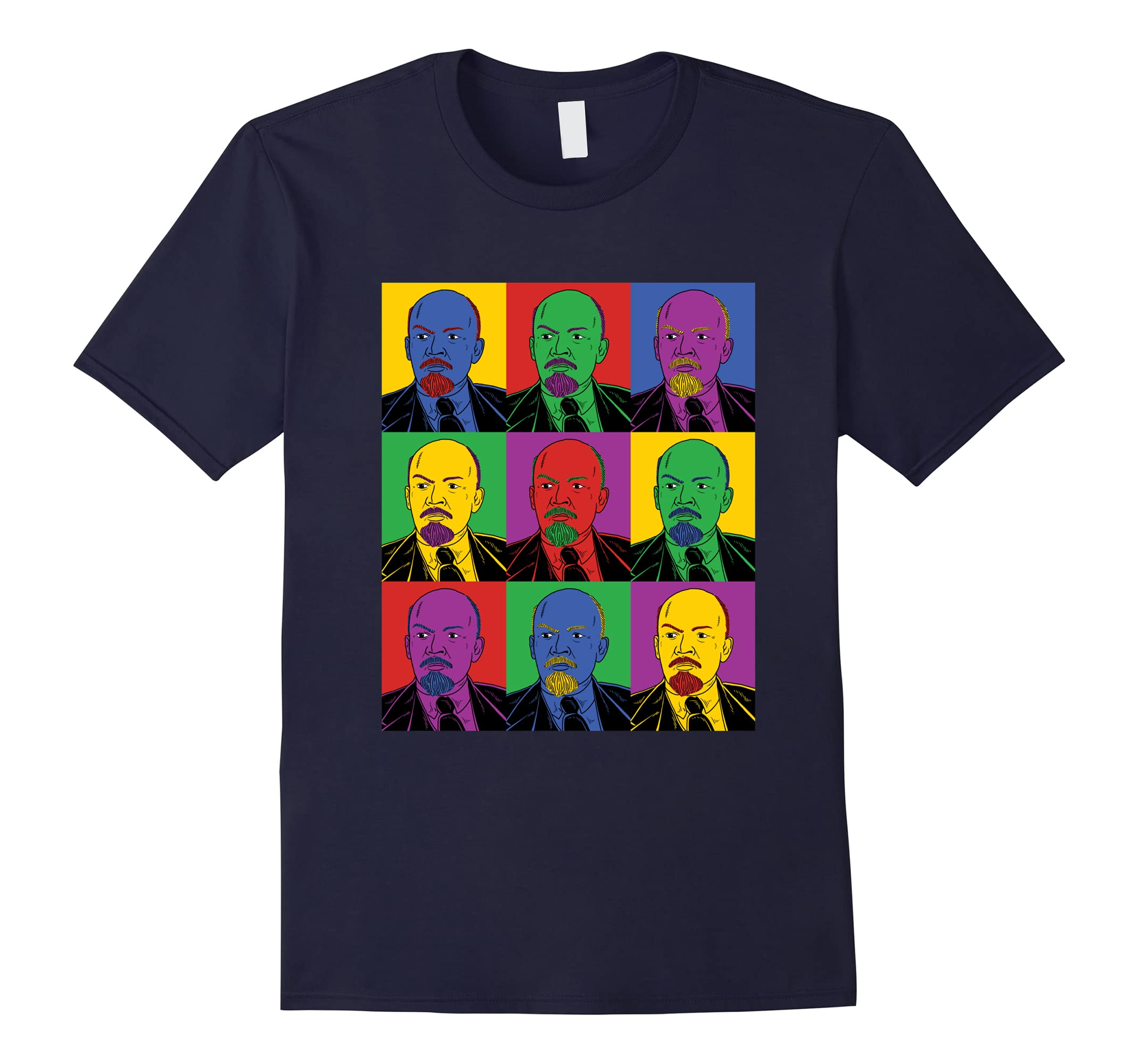 Vladimir Lenin Pop Art T-Shirt - Vintage History Tee-ah my shirt one gift