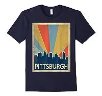 Classic Pittsburgh Shirts Navy
