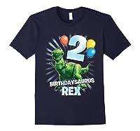 Disney Pixar Toy Story Birthdaysaurus Rex 2nd Birthday T-shirt Navy