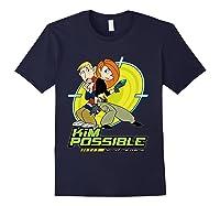 Disney Kim Possible T Shirt Navy