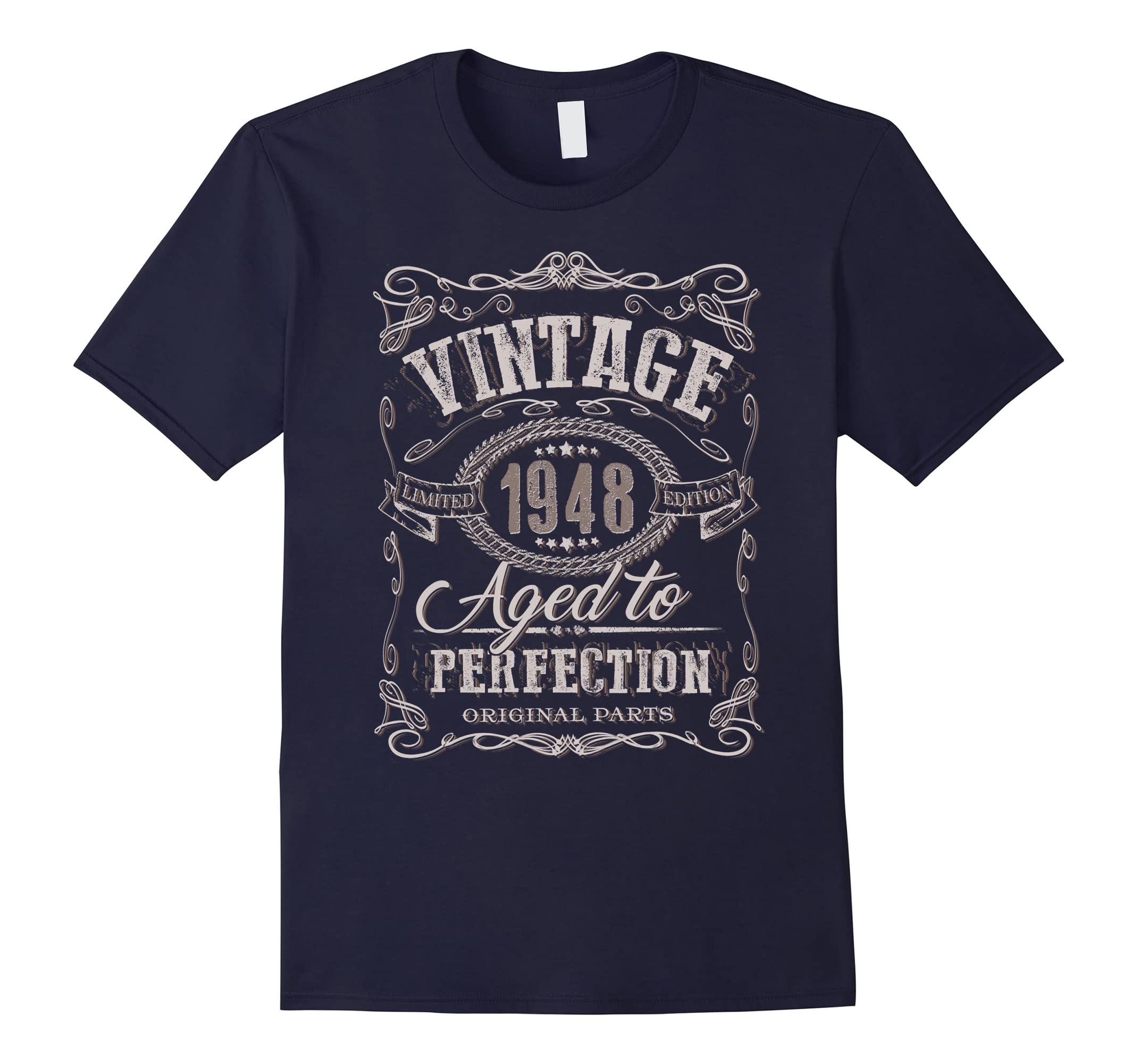 70th Birthday gift shirt Vintage dude 1948 70 year old shirt-mt