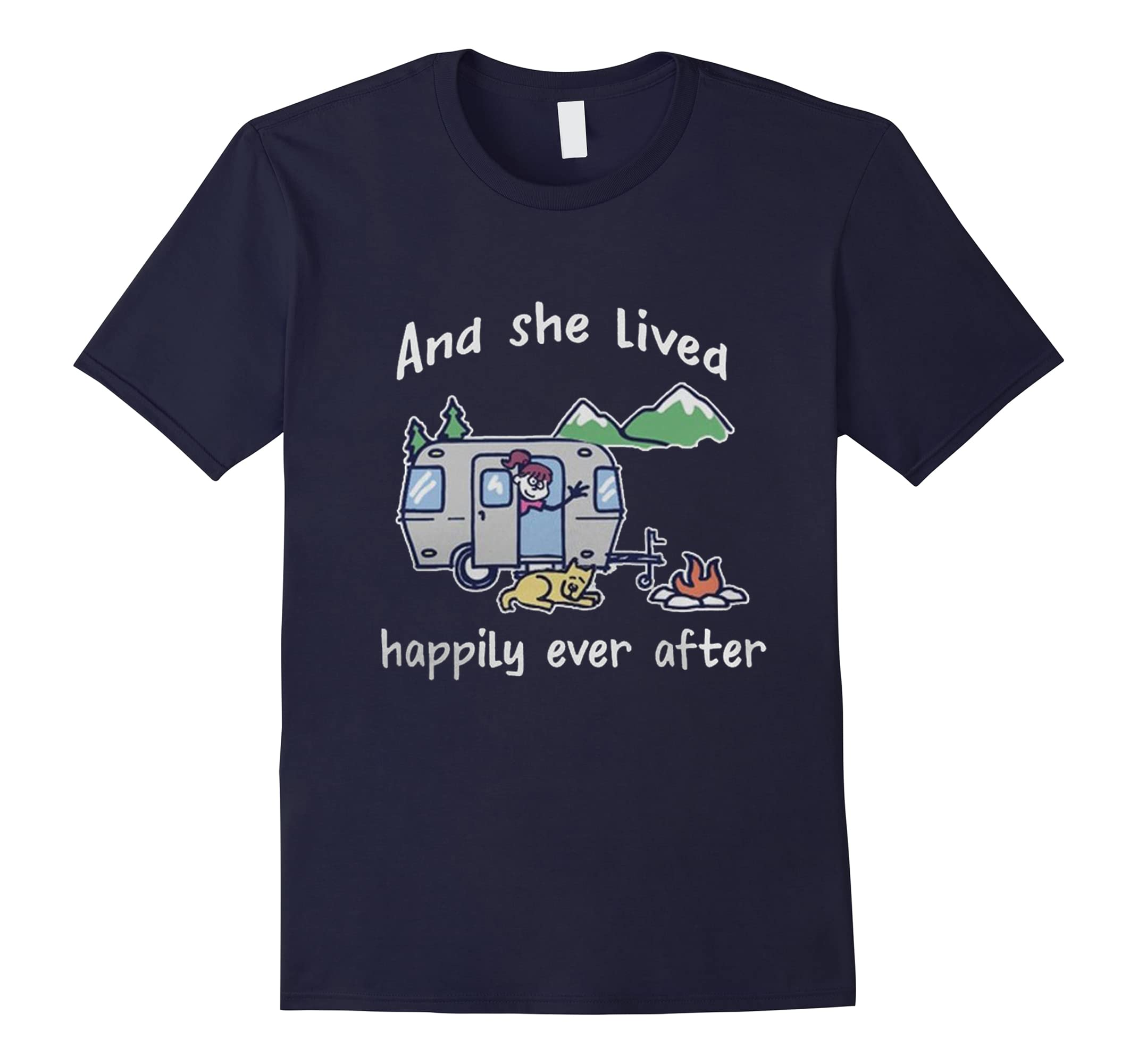 And she lived happily ever after Tshirt-RT