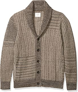 Men's Long Sleeve Shawl Collar Cardigan Sweater