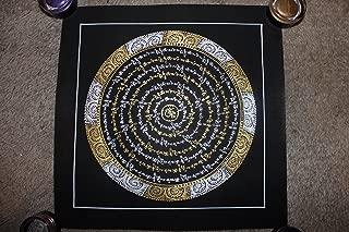 Tibetan Kalachakra Mandala Thangka Painting From Nepal