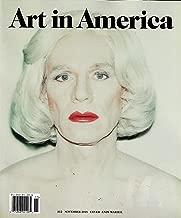 Art in America November 2018 ANDY WARHOL Cover