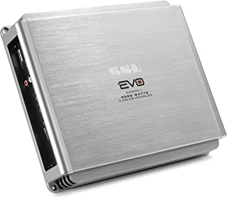 Sound Storm EVO2000.1 EVO 2000 Watt, 2 Ohm Stable Class A/B, Monoblock, MOSFET Car Amplifier with Remote Subwoofer Control