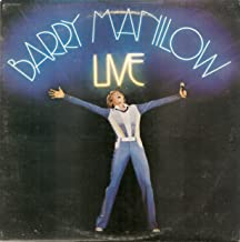 barry manilow live vinyl