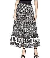 CHAPS Olive Full Skirt