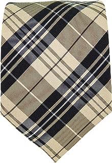 Clan Tie Douglas Ancient Tartan Pure Wool Scottish Handmade Necktie