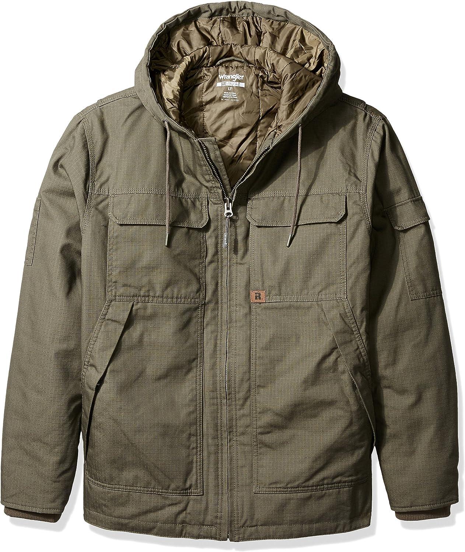 Wrangler Riggs Workwear Men's Big-Tall Hooded Ranger Jacket