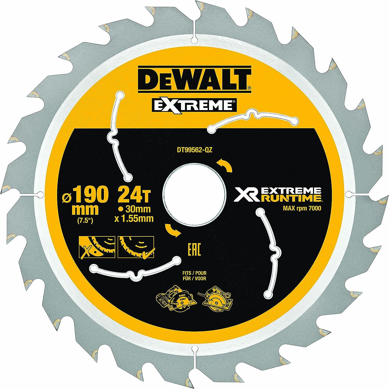 3 X DEWALT EXTREME DT10304 DT10399 190MM X 30MM BORE 24T TCT CIRCULAR SAW BLADES