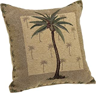 Brentwood Originals Panama Jacquard Chenille 18-by-18-inch Decorative Pillow 3522bcb0a7