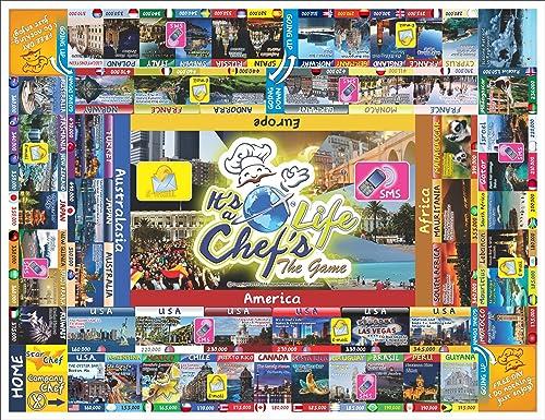 nuevo estilo It's a a a Chef's Life Family Board Game Family Friendly Kids 7+chefs Fun by Cheflife  gran venta