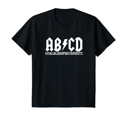 6ff09127 Amazon.com: Kids ABCD Lightning Bolt Logo T-Shirt: Clothing