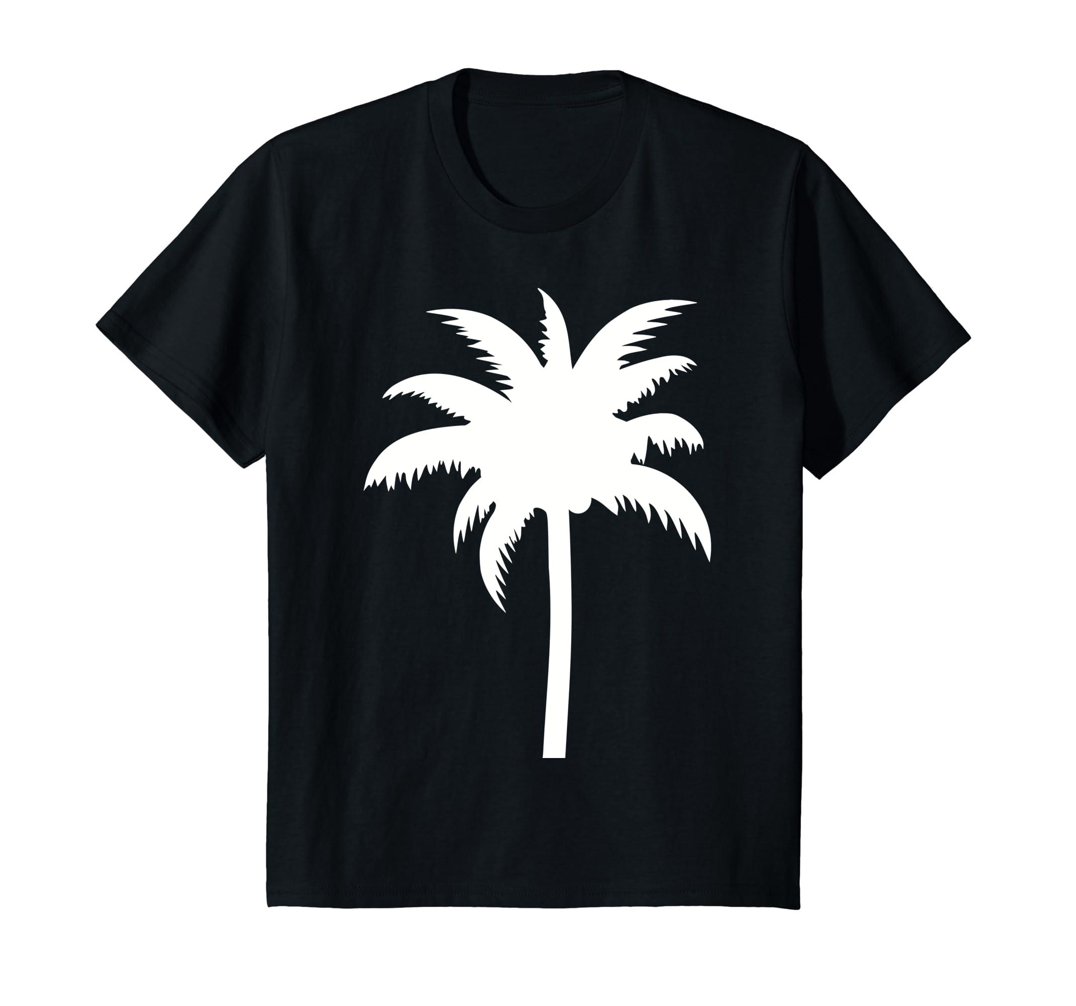 6c0a5645f6 Amazon.com: Palm tree T-Shirt: Clothing