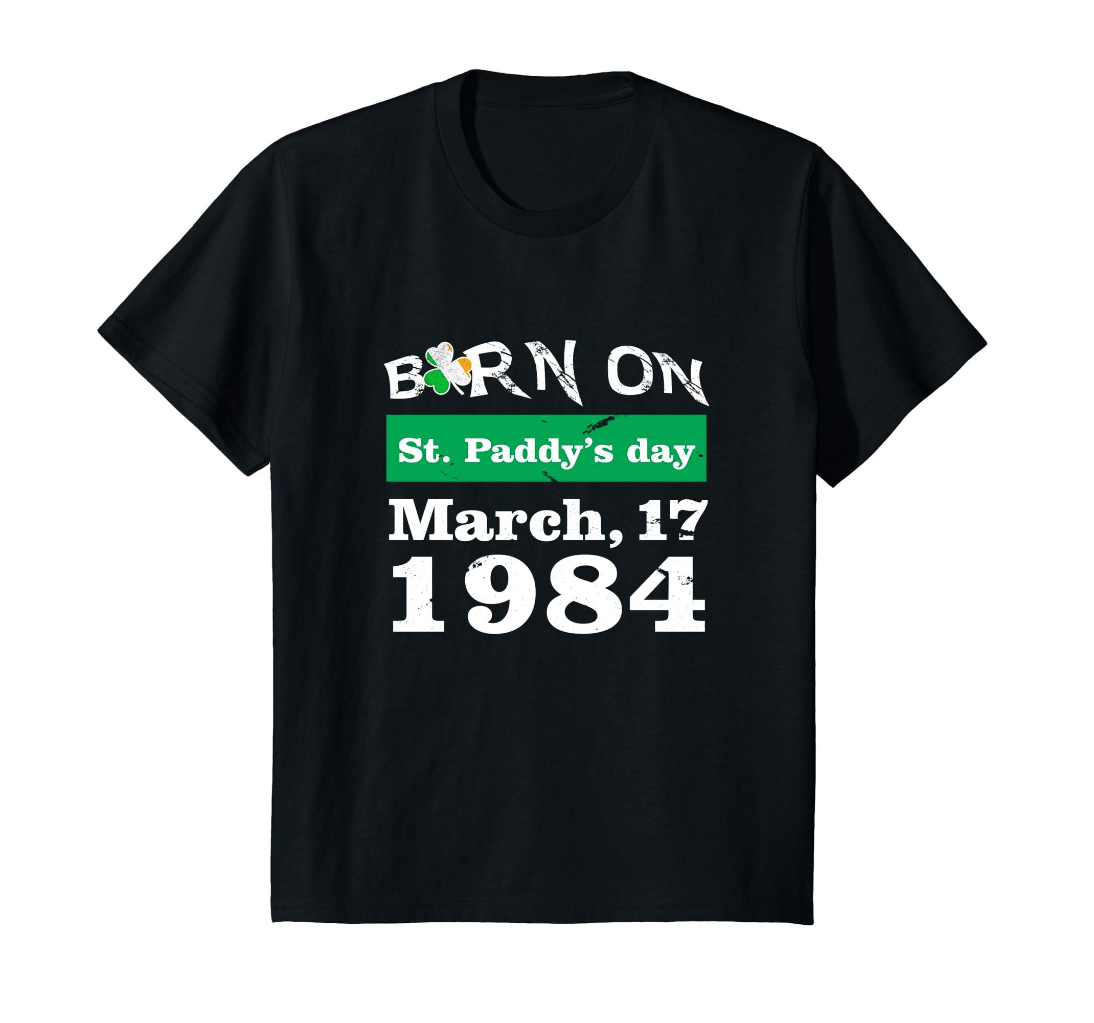 1984 St Patricks Birthday Shirt