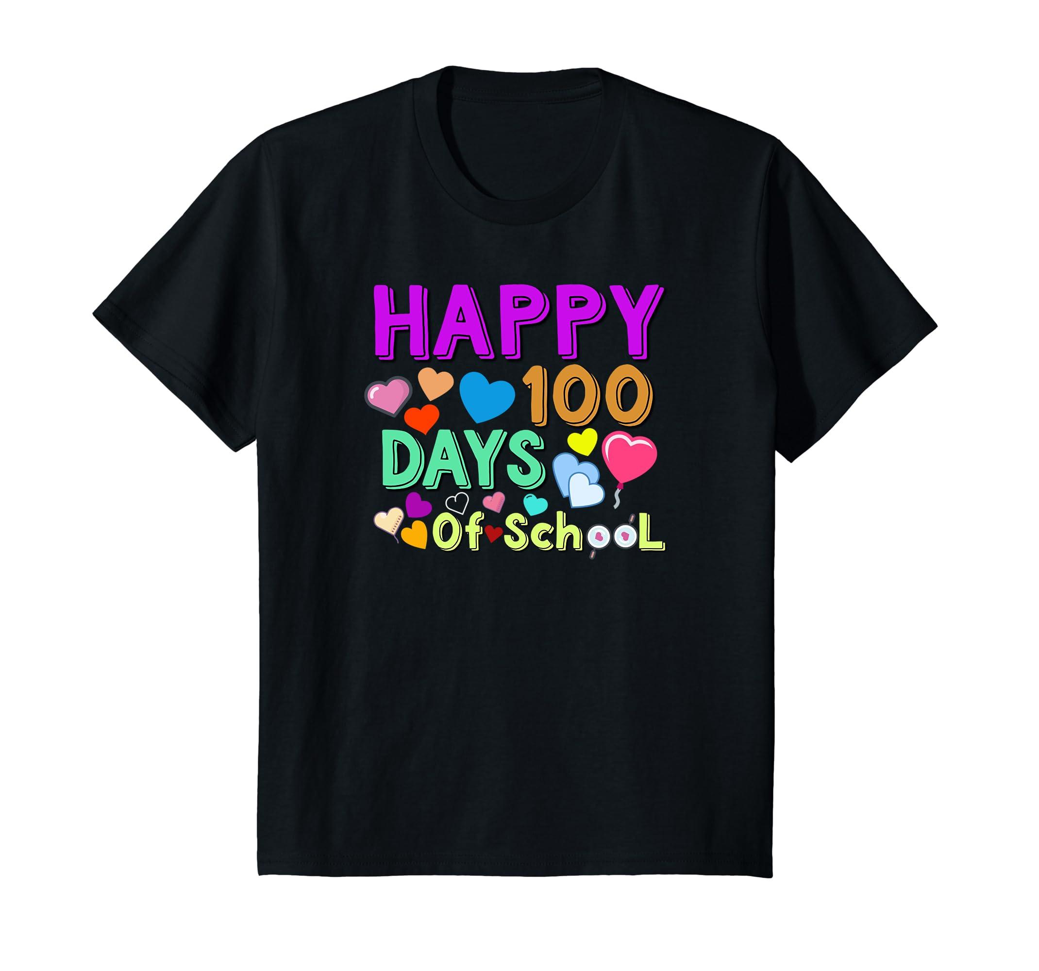 100th Day of School Shirt  Happy 100 Days Of School T-shirt