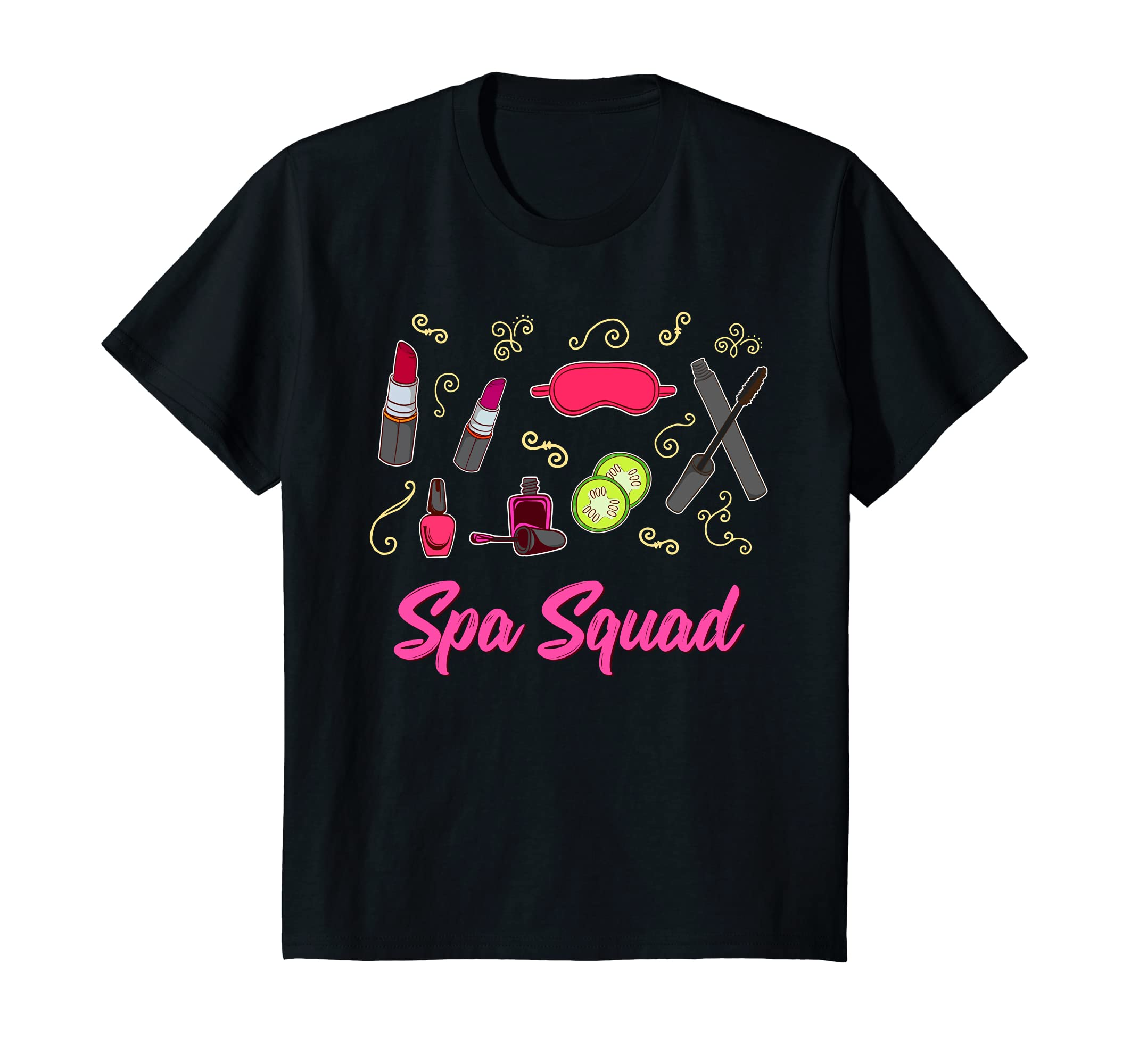 Spa Birthday Shirt   Spa Squad Shirt-Teechatpro