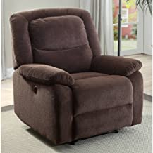"Serta Power Recliner, Brown 37.75""W x 38""D x 41""H …"