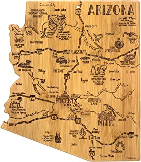 Totally Bamboo Arizona State Destination Bamboo Serving and Cutting Board