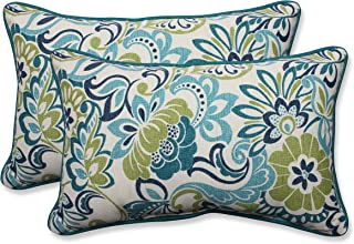 Pillow Perfect Outdoor/Indoor Zoe Mallard Rectangular Throw Pillow (Set of 2)