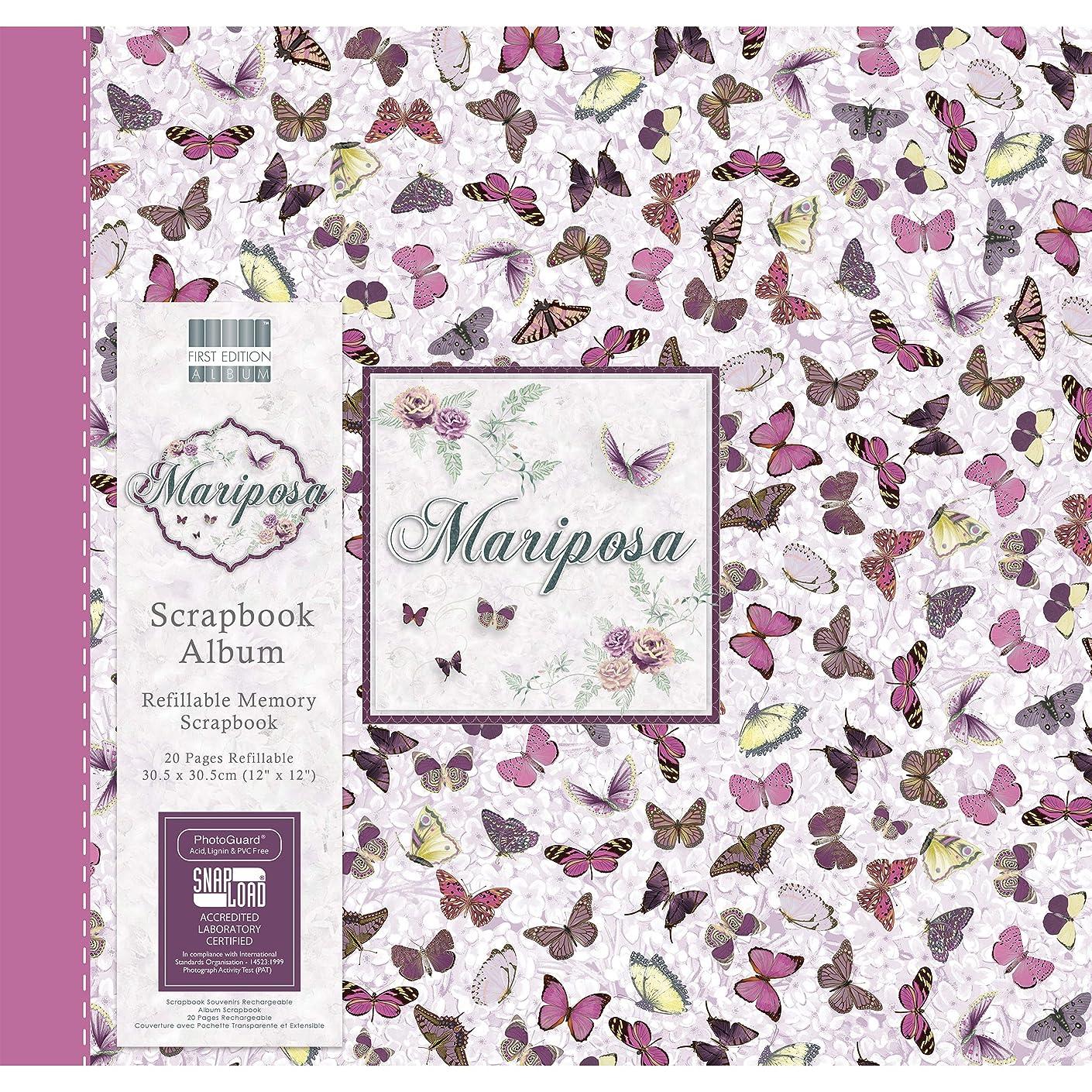First Edition Mariposa - Butterflies Scrapbook Album 12