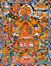 Life of Buddha (Tibetan Buddhist) - Tibetan Thangka Painting