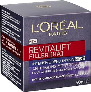 L'Oréal Paris Revitalift Filler [+Ha] Replumping Night Cream 50ml