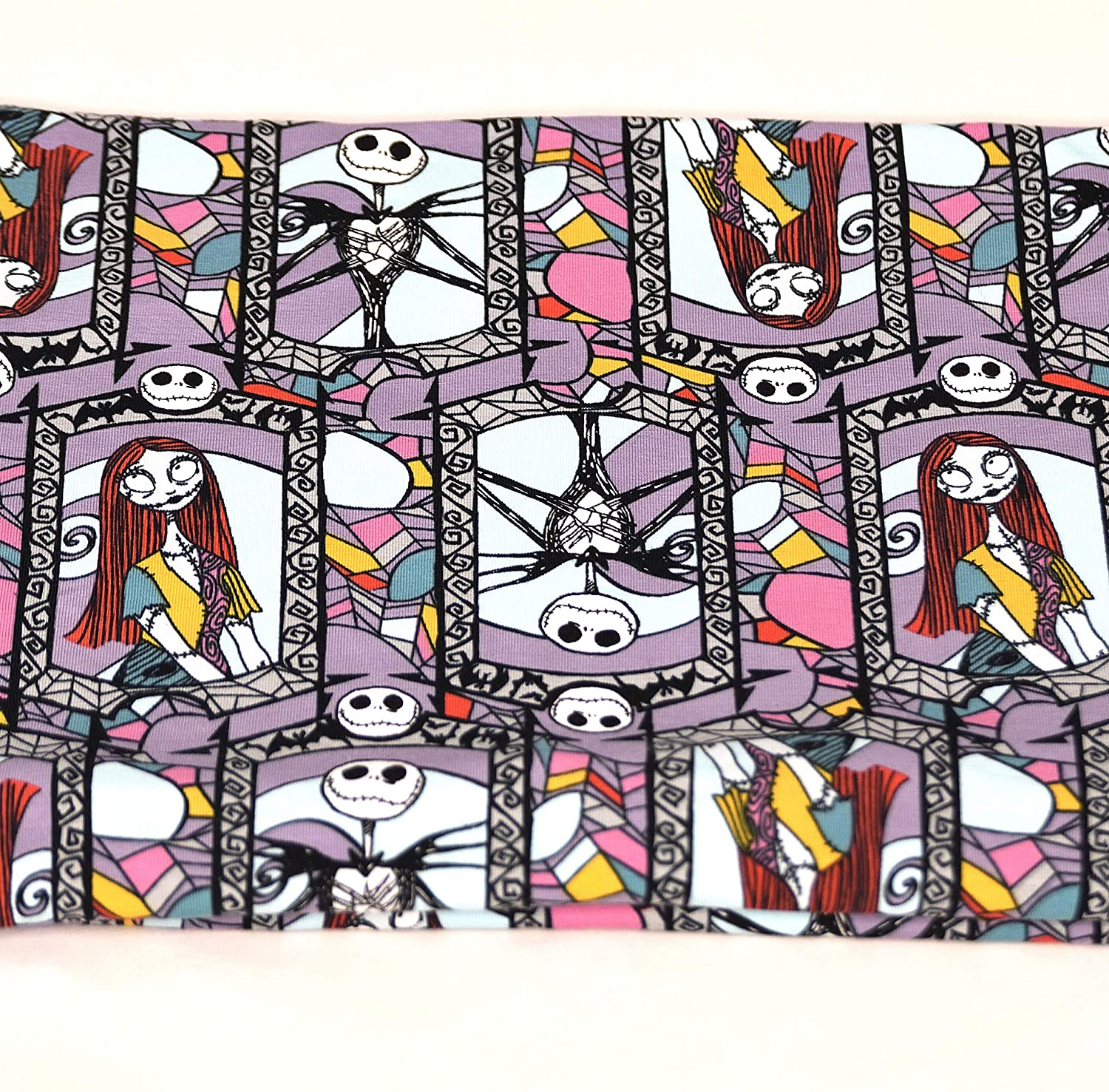 Stain Glass Nightmare Bombing free shipping Before Las Vegas Mall Christmas scarf Scarf Loop Infinity