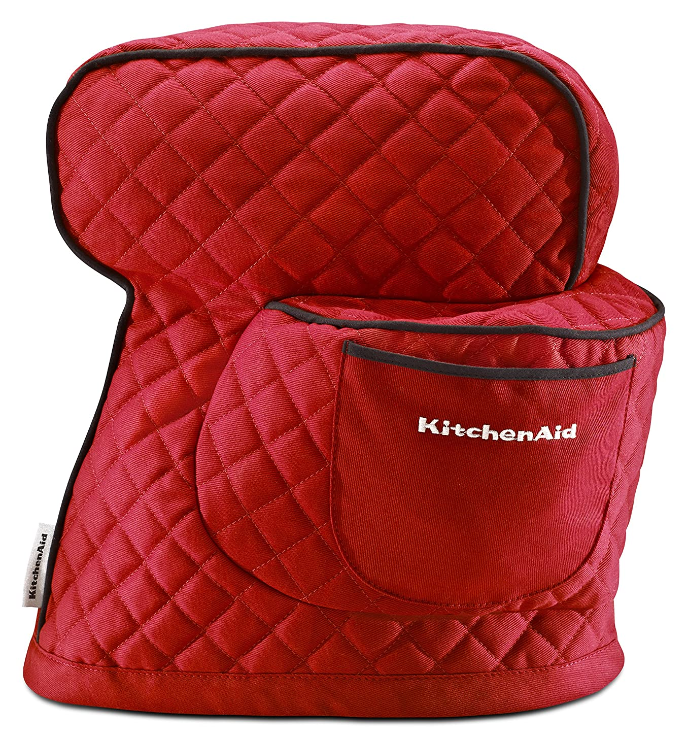 KitchenAid KSMCT1ER Fitted Stand Mixer Cover for Tilt head stand mixer models (4.5-quart and 5-quart), Empire Red