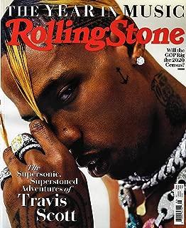 Rolling Stone Magazine January 2019 TRAVIS SCOTT Cover