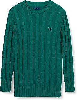 GANT Cotton Cable Crew suéter para Niños