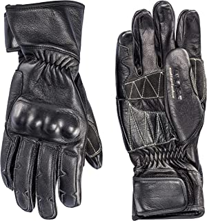 Dainese Settantadue Techno72 Leather Motorcycle Gloves Black (XX-Large)