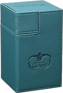 Ultimate Guard Flip´n´Tray Deck Case, 100 Plus, Standard Size, XenoSkin,  Petrol