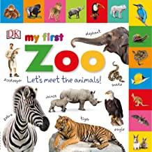 Tabbed Board Books: My First Zoo: Let's Meet the Animals! (My First Tabbed Board Book)